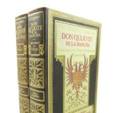 Libros antiguos: DON QUIJOTE DE LA MANCHA, DANIEL URRABIETA, 1930, 2 TOMOS, SALVAT EDITORES, BARCELONA. 21X30CM. Lote 117204623