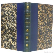 Libros antiguos: 1867 - ALFRED DE MUSSET: NOUVELLES - PARIS, CHARPENTIER - LIBRO ANTIGUO - SIGLO XIX - ENCUADERNACIÓN. Lote 117436215