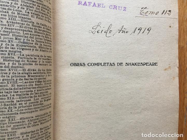 Libros antiguos: SHAKESPEARE OBRAS COMPLETAS, Macbeth, Troilo y Cresida, Enrique VIII, Edita Prometeo Tomo 5 - Foto 4 - 117620223