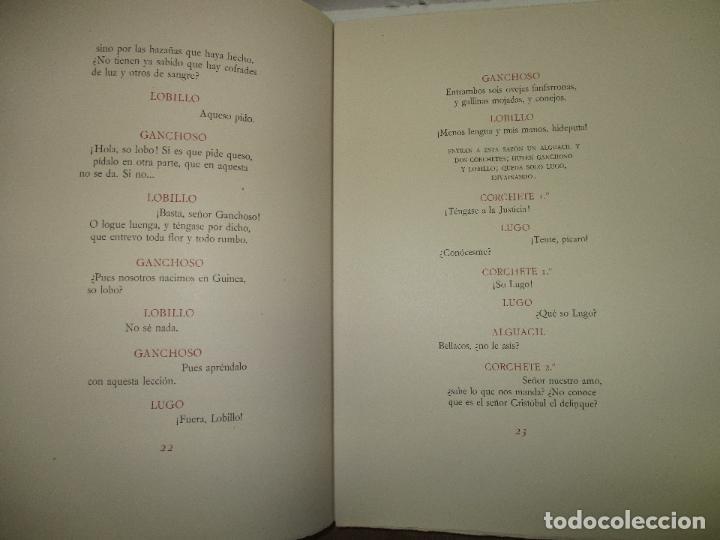 Libros antiguos: EL RUFIÁN DICHOSO. - CERVANTES SAAVEDRA, Miguel de. edicion numerada. Ramon de Capmany. - Foto 9 - 118139299