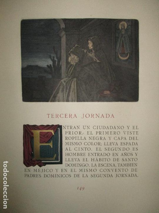Libros antiguos: EL RUFIÁN DICHOSO. - CERVANTES SAAVEDRA, Miguel de. edicion numerada. Ramon de Capmany. - Foto 11 - 118139299