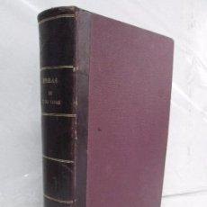 Libros antiguos: OBRAS JULIO VERNE. SAENZ JUBERA HERMANOS. FINALES DE 1800 PRINCIPIOS DE 1900. VER FOTOGRAFIAS. Lote 118156039