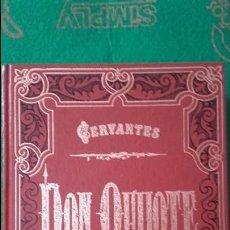 Libros antiguos: EL QUIJOTE ILUSTRADO POR GUSTAVO DORE 2 TOMOS. Lote 118262019