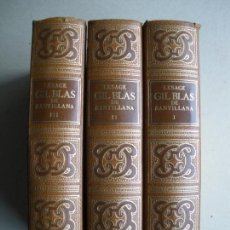 Old books - GIL BLAS DE SANTILLANA. LESAGE - 118544519