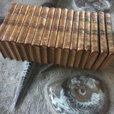 Libros antiguos: AÑO 1810- 1813 - OBRAS DE FLORIÁN - GALATEA - GUILLERMO TELL - GONZALO DE CÓRDOBA - 16 TOMOZS. Lote 119034707