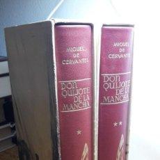 Libros antiguos: DON QUIJOTE DE LA MANCHA. ILUSTRADO POR JOSÉ SEGRELLES. 2 VOLS. Lote 119387527