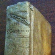Libros antiguos: EPÍSTOLAS SELECTAS - SAN GERÓNIMO - TRADUCIDAS POR FRANCISCO LÓPEZ CUESTA - MADRID, 1783. Lote 119699431