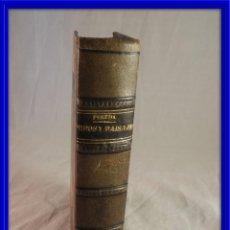 Libros antiguos: TIPOS Y PAISAJES DE JOSE MARIA DE PEREDA. Lote 120061647