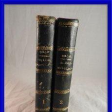 Libros antiguos: EL ANGEL DE LA GUARDA DE JOSE SELGAS EDICION 1875 TOMO I Y 2. Lote 120161467