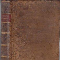 Libros antiguos: APOLOGÍA DE QUINTO SEPTIMO FLORENTE TERTULIANO CONTRA LOS GENTILES BENITO CANO 1789. Lote 121165747