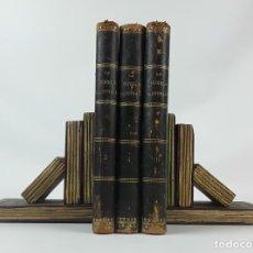 Libros antiguos: NOVELA ILUSTRADA. TOMOS 3, 4 Y 5. VICENTE BLASCO IBÁÑEZ. MADRID. . Lote 121323235