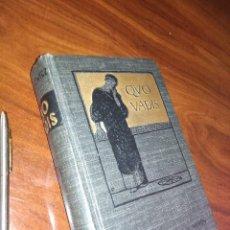 Libros antiguos: QUO VADIS 1902. Lote 121333655