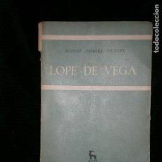 Libros antiguos: F1 LOPE DE VEGA ALONSO ZAMORA VICENTE ILUSTRADO. Lote 121368083