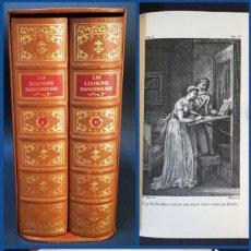 Libros antiguos: AÑO 1796 - 1979 - LAS AMISTADES PELIGROSAS - FACSÍMIL - DIFÍCIL DE ENCONTRAR - NUMERADO.. Lote 121565299