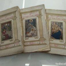 Libros antiguos: OBRAS COMPLETAS GUSTAVO A. BECQUER EDICIONES MATEU 3TOMOS LIBRERIA FERNANDO FÉ . Lote 121966175