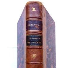 Libros antiguos: LIBRO,EL LAZARILLO DE TORMES,SIGLO XIX,AÑO 1884,EN CASTELLANO,EDITADO EN PARIS,LITERATURA ESPAÑOLA. Lote 121971219