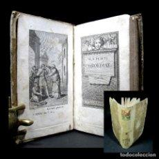 Libros antiguos: AÑO 1792 COMEDIAS DE PLAUTO ANTIGUA ROMA GRABADO Y FRONTISPICIO PLAUTUS 4 COMEDIAS COMPLETAS. Lote 122321695