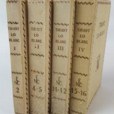 Libros antiguos: TIRANT LO BLANC. 4 TOMOS. J. MARTORELL I M.J. DE GALBA. BARCELONA.1924/1928.. Lote 122666379