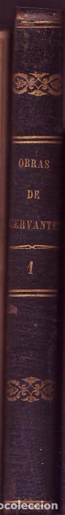 Libros antiguos: NOVELAS EJEMPLARES. Tomo I. Miguel de Cervantes Saavedra. Barcelona. Imp. Juan Oliveres, Ed. 1844. - Foto 2 - 122885607