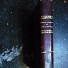 Libros antiguos: COMEDIAS ESCOGIDAS FRANCISCO DE ROJAS ZORRILLA 1861 MADRID. Lote 102747275