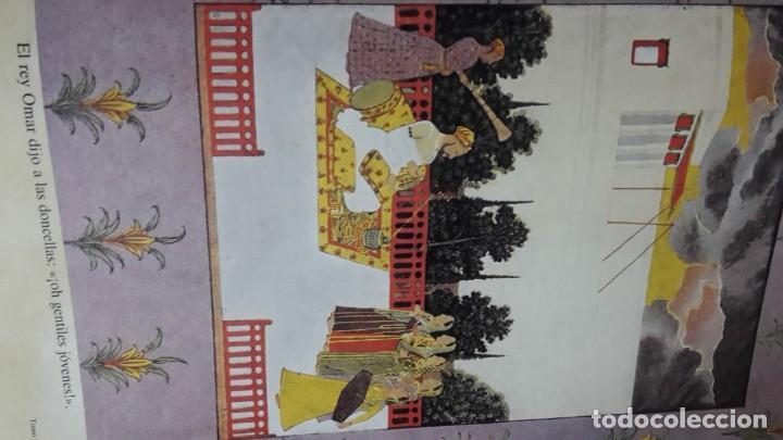 Libros antiguos: Las mil y una noches, 2 tomos, version de Blasco Ibañez, Ediciones Jover - Foto 8 - 123345083