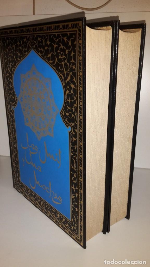 Libros antiguos: Las mil y una noches, 2 tomos, version de Blasco Ibañez, Ediciones Jover - Foto 9 - 123345083
