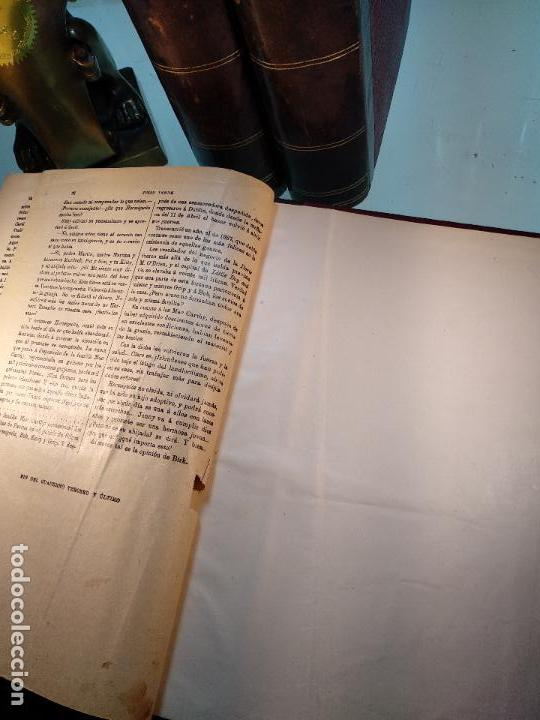 Libros antiguos: OBRAS DE JULIO VERNE - 3 VOLÚMENES - MAS DE 25 DE LOS RELATOS CLÁSICOS - MUY ILUSTRADADOS - - Foto 12 - 124010675