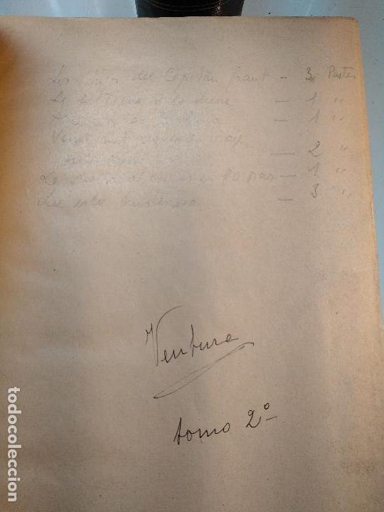 Libros antiguos: OBRAS DE JULIO VERNE - 3 VOLÚMENES - MAS DE 25 DE LOS RELATOS CLÁSICOS - MUY ILUSTRADADOS - - Foto 15 - 124010675