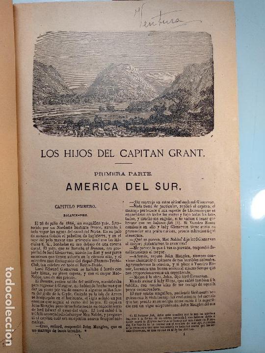 Libros antiguos: OBRAS DE JULIO VERNE - 3 VOLÚMENES - MAS DE 25 DE LOS RELATOS CLÁSICOS - MUY ILUSTRADADOS - - Foto 18 - 124010675