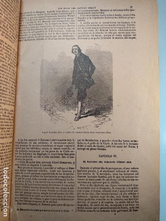 Libros antiguos: OBRAS DE JULIO VERNE - 3 VOLÚMENES - MAS DE 25 DE LOS RELATOS CLÁSICOS - MUY ILUSTRADADOS - - Foto 19 - 124010675