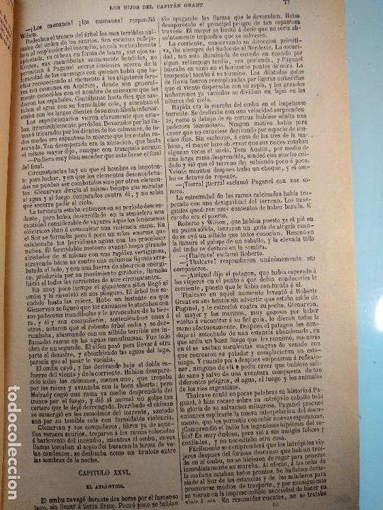 Libros antiguos: OBRAS DE JULIO VERNE - 3 VOLÚMENES - MAS DE 25 DE LOS RELATOS CLÁSICOS - MUY ILUSTRADADOS - - Foto 20 - 124010675