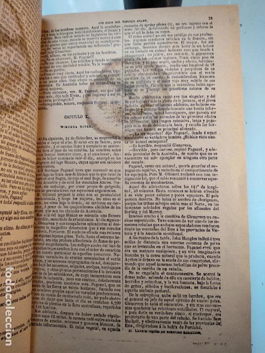 Libros antiguos: OBRAS DE JULIO VERNE - 3 VOLÚMENES - MAS DE 25 DE LOS RELATOS CLÁSICOS - MUY ILUSTRADADOS - - Foto 21 - 124010675
