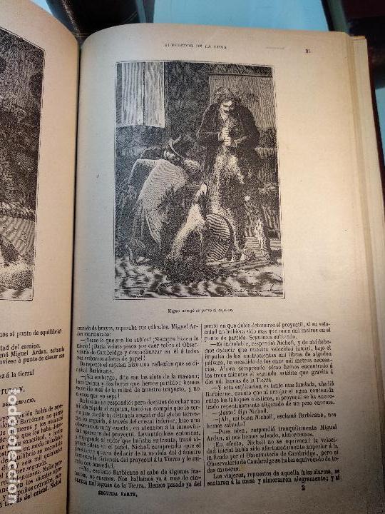 Libros antiguos: OBRAS DE JULIO VERNE - 3 VOLÚMENES - MAS DE 25 DE LOS RELATOS CLÁSICOS - MUY ILUSTRADADOS - - Foto 23 - 124010675