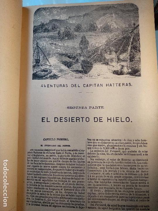 Libros antiguos: OBRAS DE JULIO VERNE - 3 VOLÚMENES - MAS DE 25 DE LOS RELATOS CLÁSICOS - MUY ILUSTRADADOS - - Foto 33 - 124010675