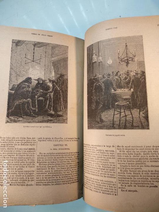Libros antiguos: OBRAS DE JULIO VERNE - 3 VOLÚMENES - MAS DE 25 DE LOS RELATOS CLÁSICOS - MUY ILUSTRADADOS - - Foto 36 - 124010675