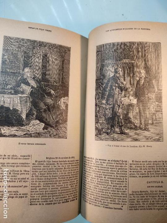 Libros antiguos: OBRAS DE JULIO VERNE - 3 VOLÚMENES - MAS DE 25 DE LOS RELATOS CLÁSICOS - MUY ILUSTRADADOS - - Foto 37 - 124010675
