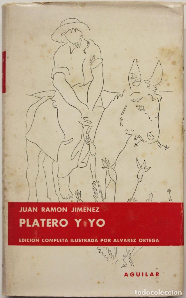 PLATERO Y YO. (ELEGÍA ANDALUZA). - JIMÉNEZ, JUAN RAMÓN. (Libros antiguos (hasta 1936), raros y curiosos - Literatura - Narrativa - Clásicos)