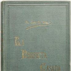 Libros antiguos: OBRAS SELECTAS DEL MAESTRO FRAY LUIS DE LEÓN. PRECEDIDAS DE SU BIOGRAFÍA. - LEÓN, FRAY LUIS DE.. Lote 123207880