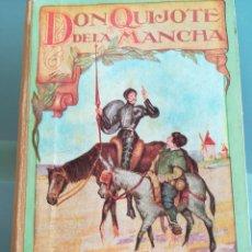 Libros antiguos: DON QUIJOTE DE LA MANCHA-EDICION PARA NIÑOS-DALMAU CARLES, PLA 1ª EDICION SIN FECHA-MAGNIFICO 1925 ?. Lote 124694403