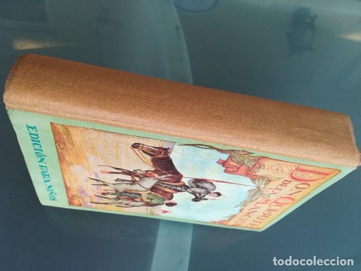 Libros antiguos: DON QUIJOTE DE LA MANCHA-EDICION PARA NIÑOS-DALMAU CARLES, PLA 1ª EDICION SIN FECHA-MAGNIFICO 1925 ? - Foto 7 - 124694403