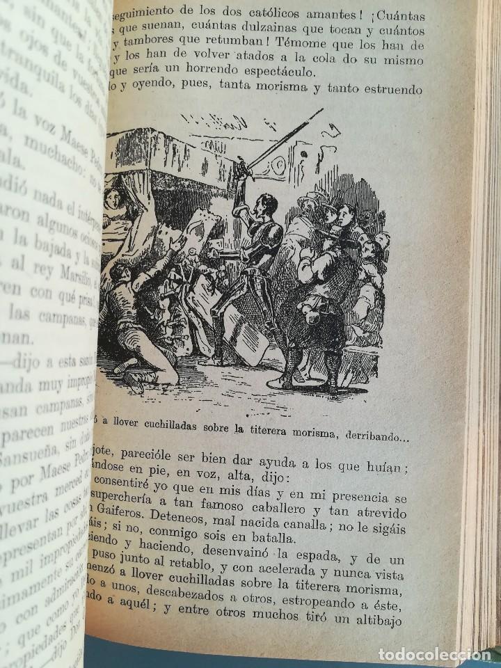 Libros antiguos: DON QUIJOTE DE LA MANCHA-EDICION PARA NIÑOS-DALMAU CARLES, PLA 1ª EDICION SIN FECHA-MAGNIFICO 1925 ? - Foto 10 - 124694403