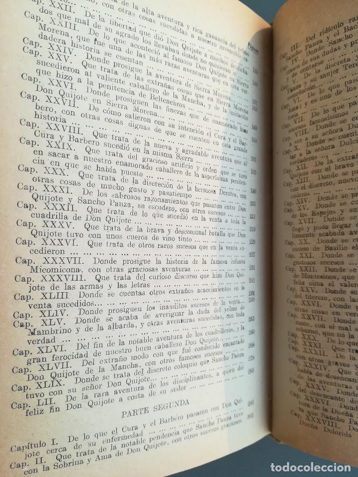 Libros antiguos: DON QUIJOTE DE LA MANCHA-EDICION PARA NIÑOS-DALMAU CARLES, PLA 1ª EDICION SIN FECHA-MAGNIFICO 1925 ? - Foto 12 - 124694403