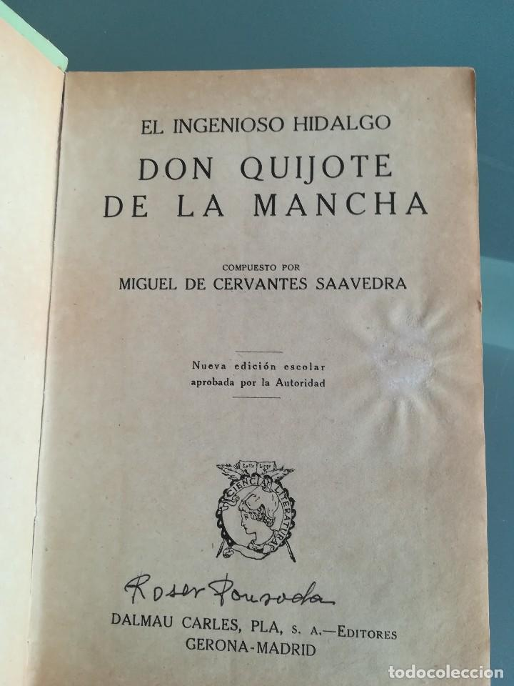Libros antiguos: DON QUIJOTE DE LA MANCHA-EDICION PARA NIÑOS-DALMAU CARLES, PLA 1ª EDICION SIN FECHA-MAGNIFICO 1925 ? - Foto 15 - 124694403