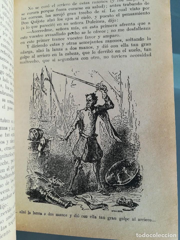 Libros antiguos: DON QUIJOTE DE LA MANCHA-EDICION PARA NIÑOS-DALMAU CARLES, PLA 1ª EDICION SIN FECHA-MAGNIFICO 1925 ? - Foto 17 - 124694403
