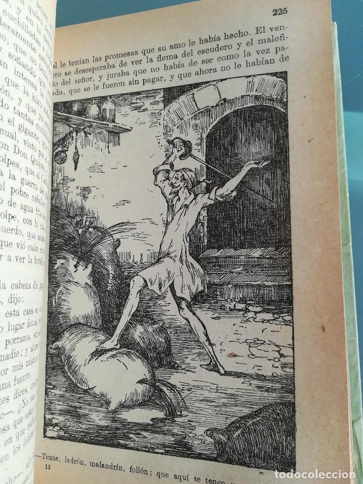 Libros antiguos: DON QUIJOTE DE LA MANCHA-EDICION PARA NIÑOS-DALMAU CARLES, PLA 1ª EDICION SIN FECHA-MAGNIFICO 1925 ? - Foto 18 - 124694403