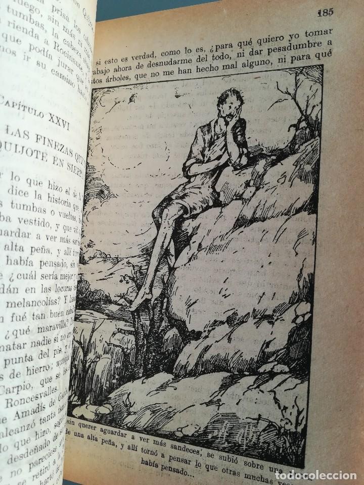 Libros antiguos: DON QUIJOTE DE LA MANCHA-EDICION PARA NIÑOS-DALMAU CARLES, PLA 1ª EDICION SIN FECHA-MAGNIFICO 1925 ? - Foto 19 - 124694403