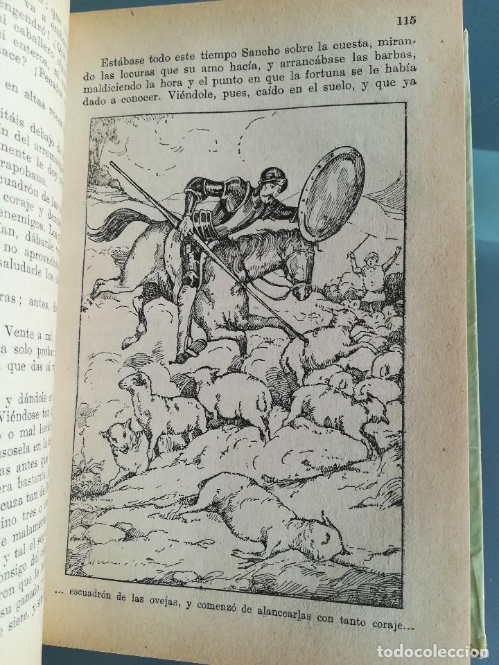 Libros antiguos: DON QUIJOTE DE LA MANCHA-EDICION PARA NIÑOS-DALMAU CARLES, PLA 1ª EDICION SIN FECHA-MAGNIFICO 1925 ? - Foto 20 - 124694403