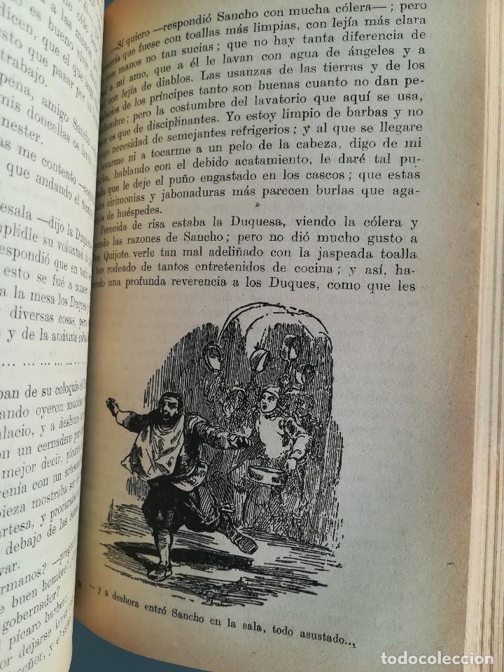 Libros antiguos: DON QUIJOTE DE LA MANCHA-EDICION PARA NIÑOS-DALMAU CARLES, PLA 1ª EDICION SIN FECHA-MAGNIFICO 1925 ? - Foto 22 - 124694403