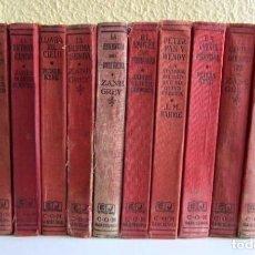 Libros antiguos: LOTE 12 LIBROS 1925-1935 10 LIBROS 1ªEDICIÓN Y 2 LIBROS 2ªEDICIÓN EDITORIAL JUVENTUD S.A.. Lote 125240063