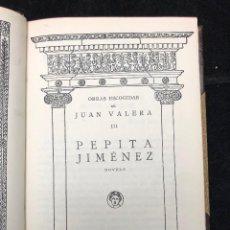 Libros antiguos: JUAN VALERA. PEPITA JIMÉNEZ. 1934. Lote 125392315